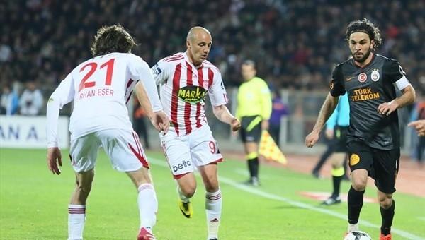 Medicana Sivasspor - Galatasaray maçı öncesi takımların son durumu