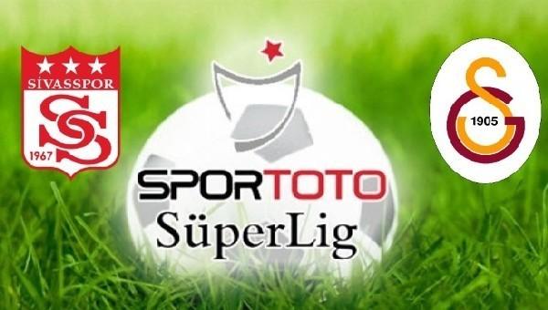 Sivasspor-Galatasaray maçı ne zaman?