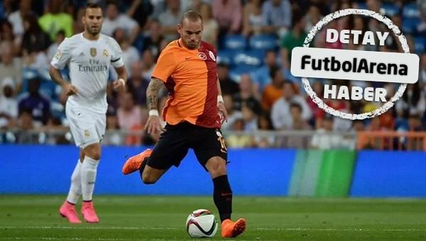 Wesley Sneijder sözleşme bekliyor