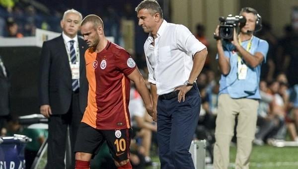 Sneijder'den Podolski tepkisi