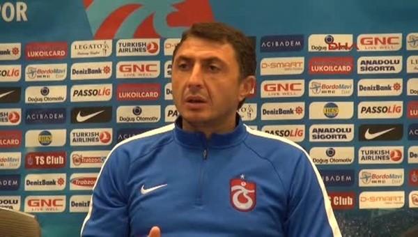 Şota: 'Bursaspor maçını kazanmak istiyoruz'