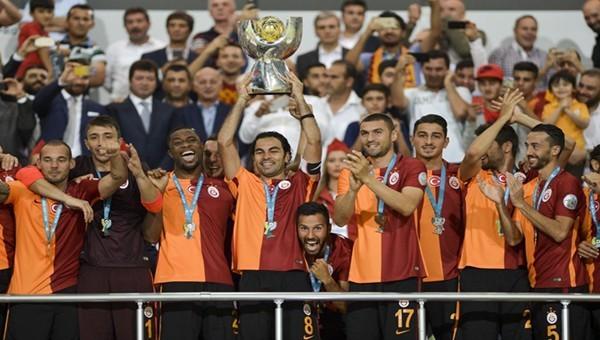 Galatasaray Süper Kupa'da da 4. yıldızı taktı