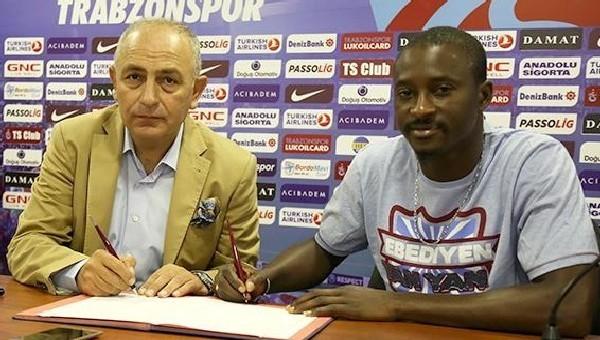Trabzonspor, N'Doye ile 3 yıllık sözleşme imzaladı