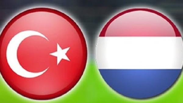 Türkiye - Hollanda maçı ne zaman?