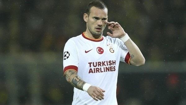 Wesley Sneijder'den alkışlanacak hareket