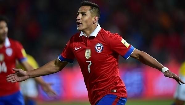 Alexis Sanchez, Lewandowski'ye rakip oldu