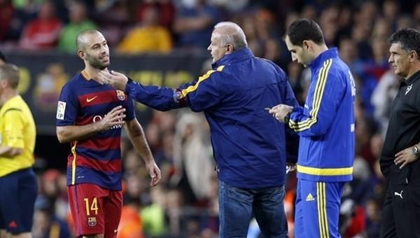 Barcelona'dan ilginç savunma