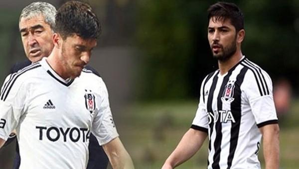 Beşiktaş'ta 2 oyuncunun sözleşmesi feshedildi