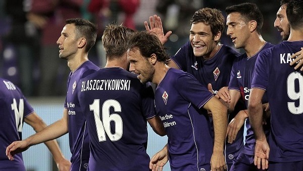 Fiorentina zirveye yerleşti