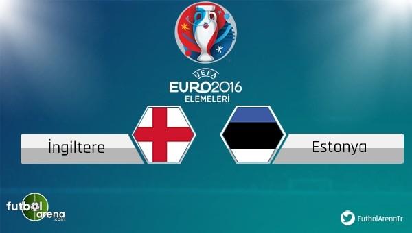 İngiltere - Estonya maçı saat kaçta, hangi kanalda?