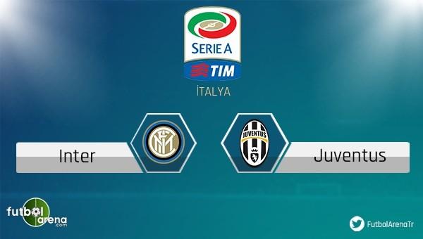 Inter - Juventus maçını şifresiz izle