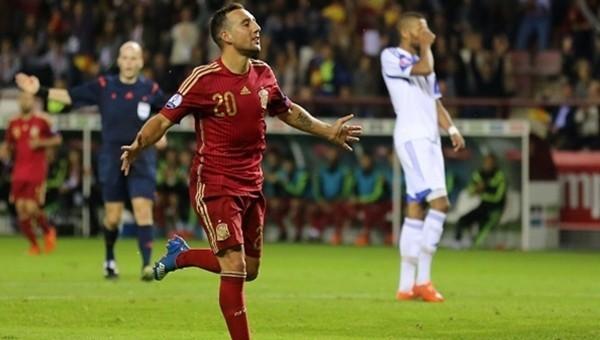 İspanya farka gitti. EURO 2016'yı garantiledi