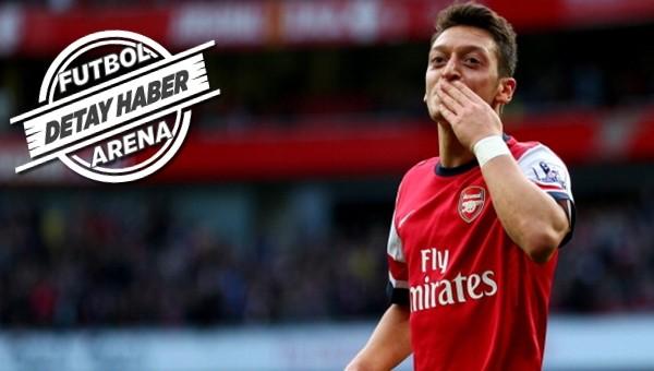 Liderlik Mesut Özil'de!