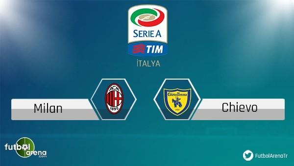 Milan - Chievo maçı saat kaçta, hangi kanalda?