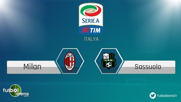 Milan - Sassuolo maçı saat kaçta, hangi kanalda?
