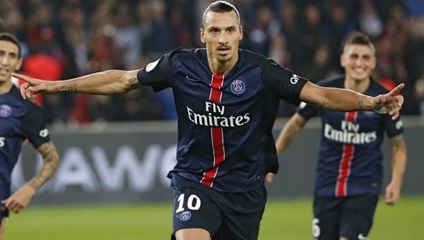 PSG kazandı, İbrahimoviç tarihe geçti!