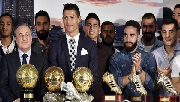 Real Madrid'ten Ronaldo'ya özel tören
