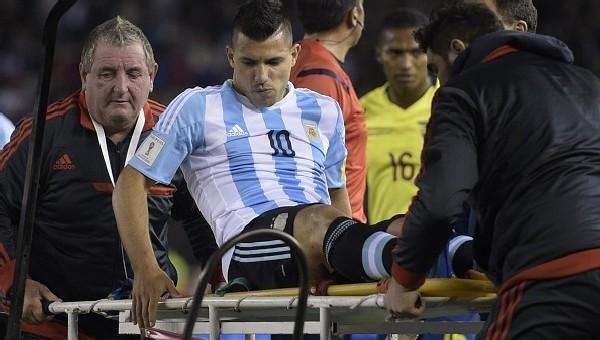 Sergio Agüero 1 ay sahalarda yok