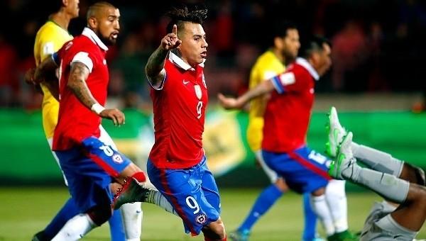 Şili 2-0 Brezilya maç özeti ve golleri