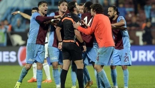 Trabzonspor maçında kural hatası var mı?