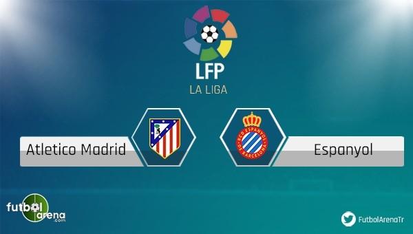 Atletico Madrid - Espanyol maçı saat kaçta, hangi takımda?