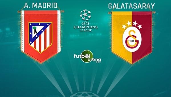 Atletico Madrid, Galatasaray kadrosunu açıkladı! Kimler eksik?