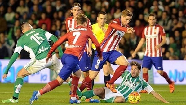 Atletico Madrid tek golle güldü