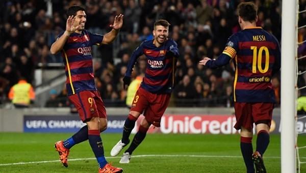 Barcelona yine fark attı!