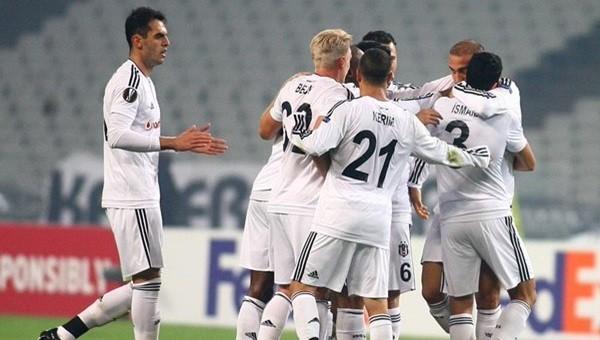 Beşiktaş evinde Avrupalı'ya galibiyet göstermiyor