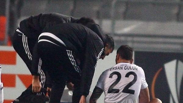 Beşiktaş'ta Ersan Gülüm şoku