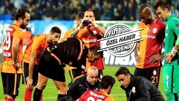 Galatasaray'da ŞOK! 3 oyuncu sakatlandı