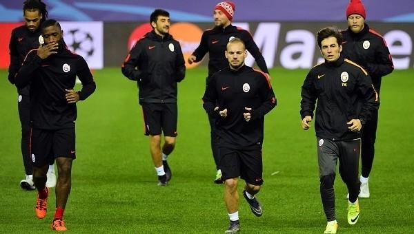 Galatasaray'ın Atletico Madrid 11'i