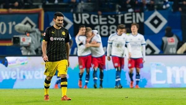 Hamburg, Dortmund'u dağıttı!