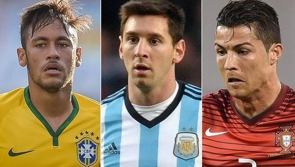 Neymar'dan Messi ve Ronaldo'ya büyük fark