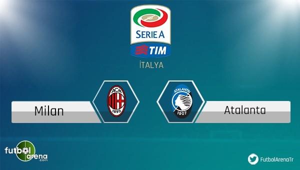 Milan - Atalanta maçı saat kaçta, hangi kanalda?