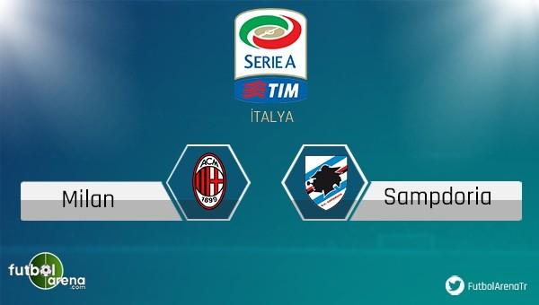 Milan - Sampdoria maçı saat kaçta, hangi kanalda?