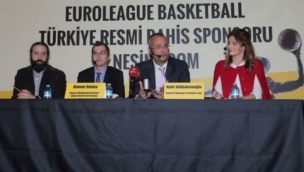 Nesine.com Euroleague'e Sponsor Oldu