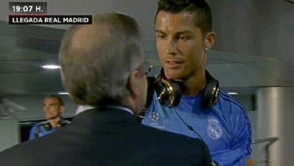 Perez, Ronaldo'dan hesap sordu! İşte o görüntüler