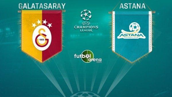 Astana maçı öncesi Galatasaray'a 2 müjdeli haber