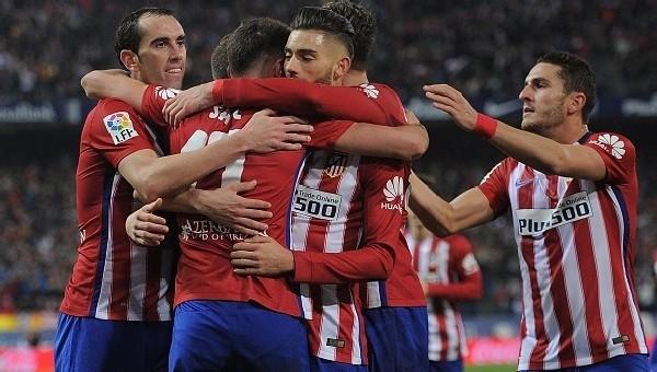 Atletico Madrid, Barcelona'yı yakaladı