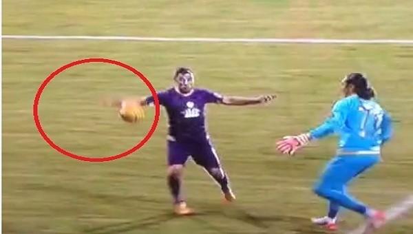 Osmanlıspor-Beşiktaş maçında Beşiktaş'ın penaltı isyanı