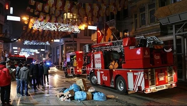 Beyoğlu GS Store'da yangın paniği! Sebebi belli oldu