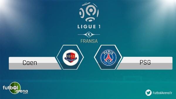 Caen - Paris Saint Germain maçı saat kaçta, hangi kanalda?