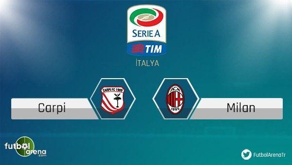 Carpi - Milan maçı saat kaçta, hangi kanalda?