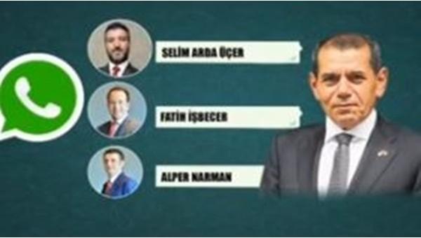 Dursun Özbek'ten Whatsapp açıklaması