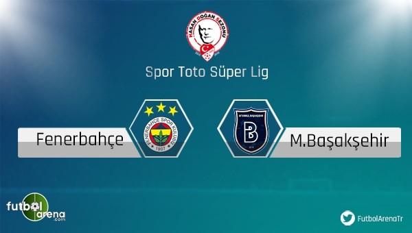 Fenerbahçe ile Başakşehir 15. kez