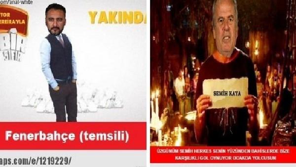 Fenerbahçe ve Galatasaray capsleri