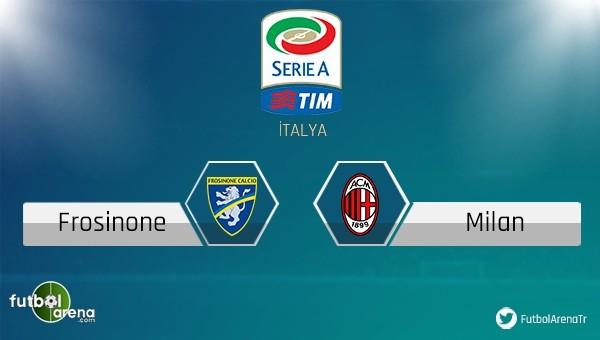 Frosinone - Milan maçı saat kaçta, hangi kanalda?