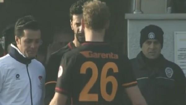 Galatasaray'da şok sakatlık! Oyundan çıktı