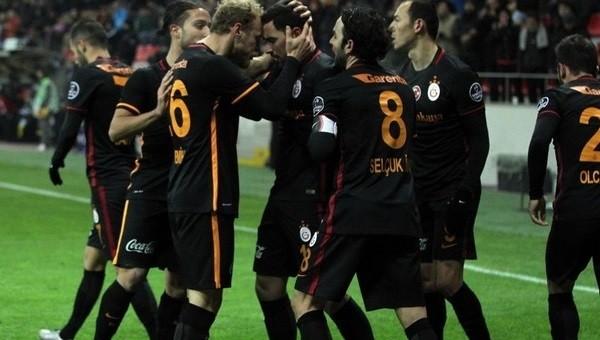Galatasaray'ın ilk yarı gol raporu
